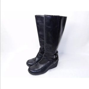 Hush Puppies Leather Boots 6